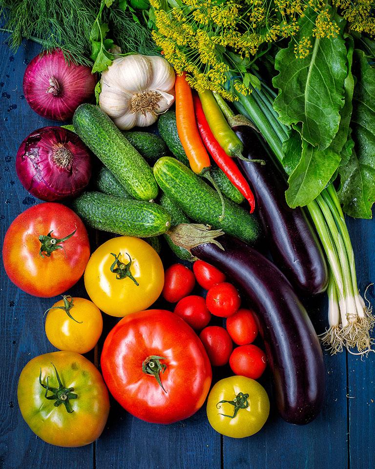 verdura a domicilio
